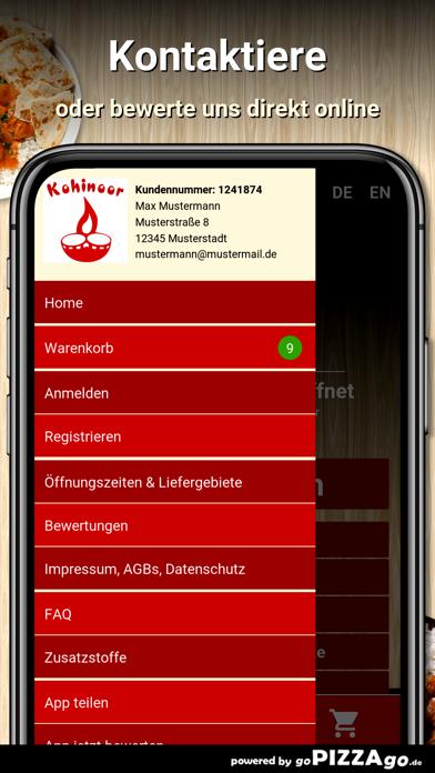 Restaurant Kohinoor Esslingen screenshot 3
