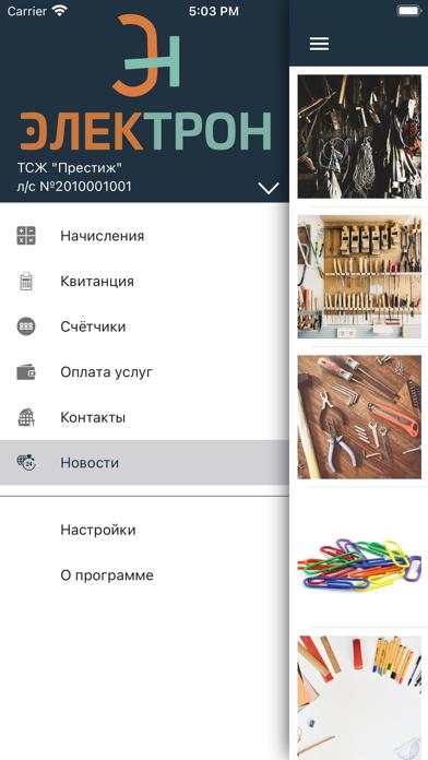 Электрон ЖКУ: личный кабинетСкриншоты 1