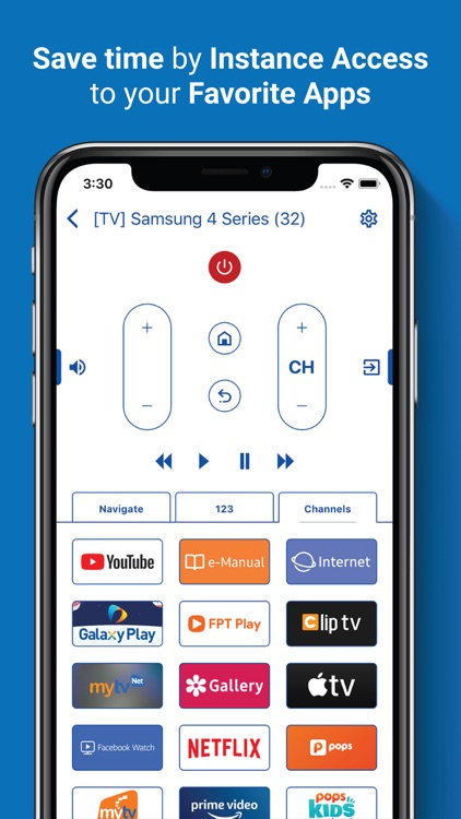 Smartthings TV Remote Control