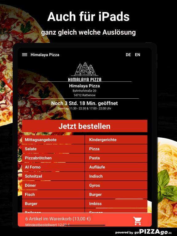 Himalaya Pizza Rathenow screenshot 7