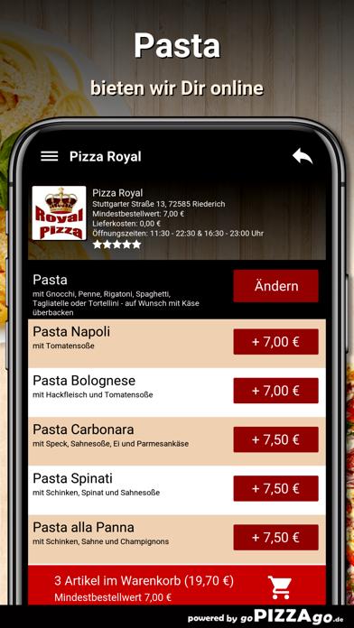 Pizza Royal Riederich screenshot 5