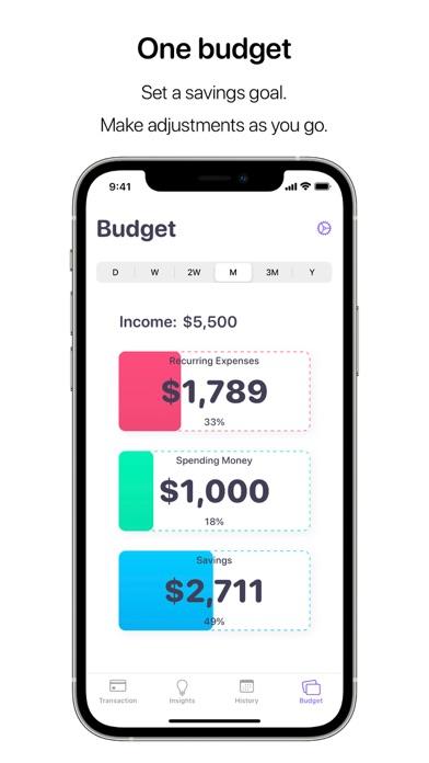 Nudget: Spending Tracker Screenshot