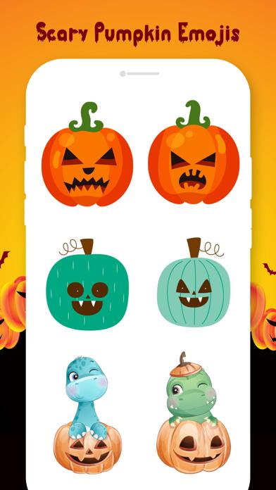 Scary Pumpkin Emojis screenshot 3