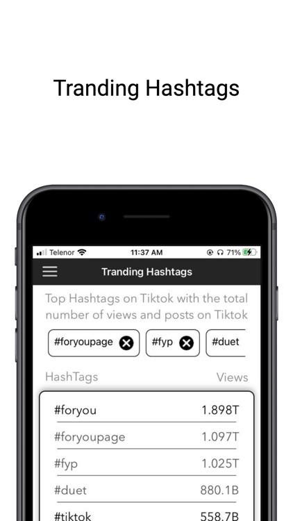 HashTags for Tik Like&Follower screenshot-4