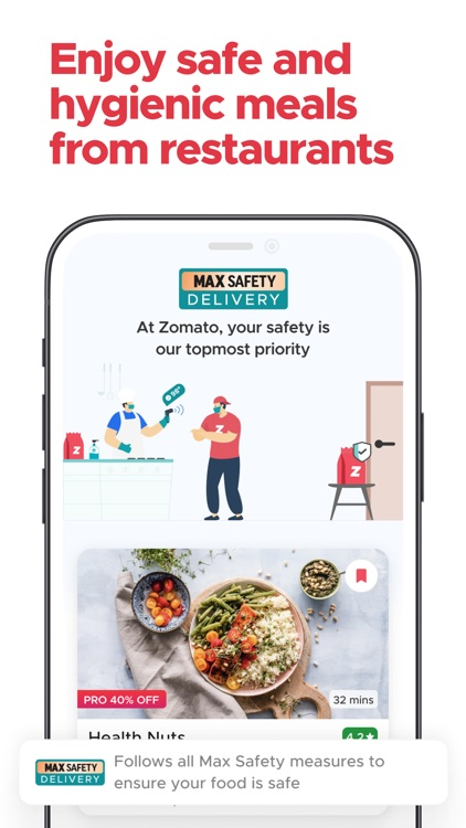 Zomato: Food Delivery & Dining screenshot-3