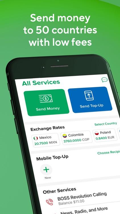 BOSS Revolution Money Transfer screenshot-0