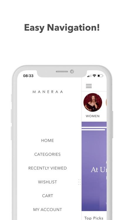 Maneraa - Online Shopping App screenshot-3