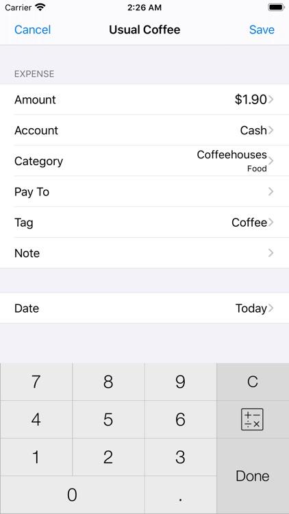 Active Money Pro screenshot-0