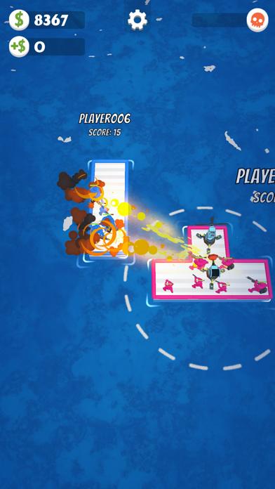 War of Rafts: Naval Battle screenshot 1