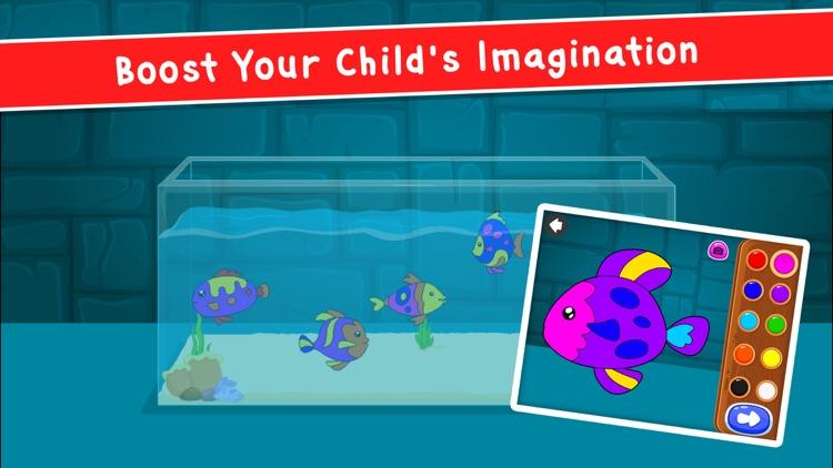 Coloring Games: for Kids 2-6! screenshot-9