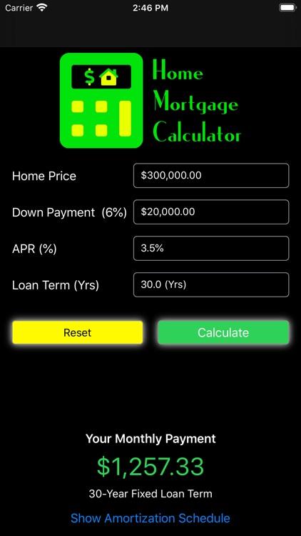 Mortgage My Calculator screenshot-3