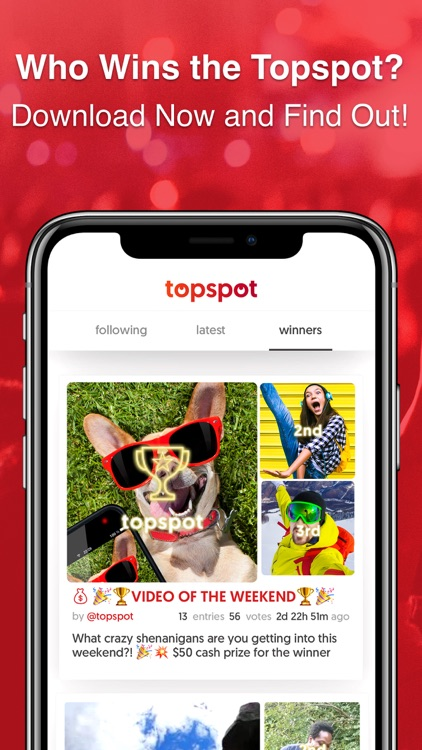 Topspot - Showcase Your Talent screenshot-5