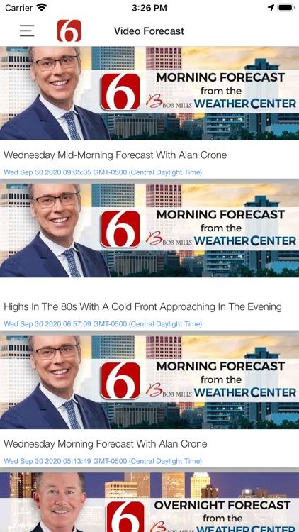 News on 6 Weather screenshot-3