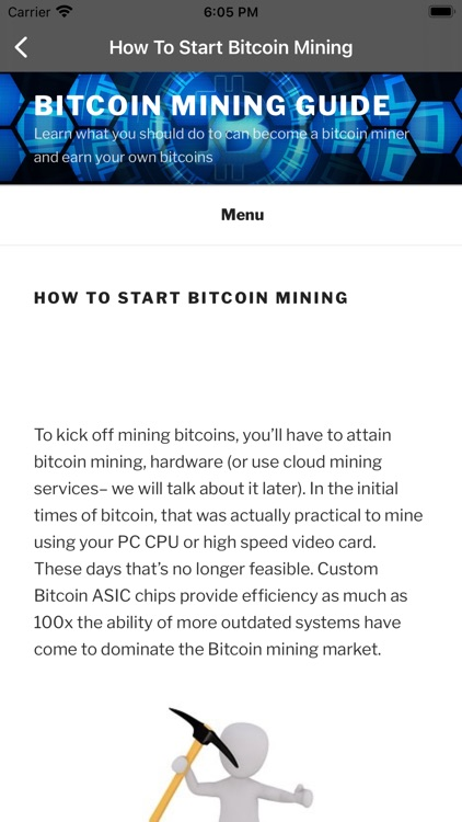 Crypto Mining Course BTC miner screenshot-3