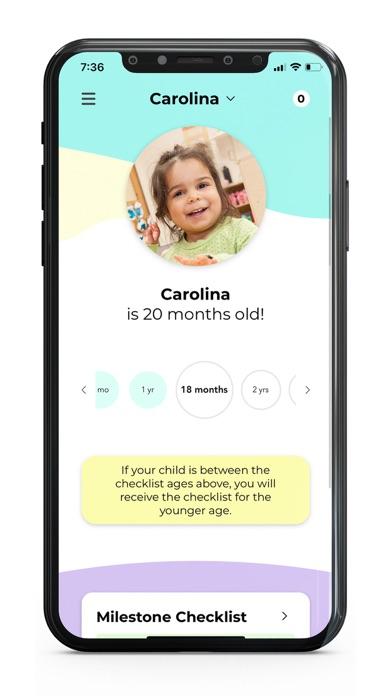 CDC's Milestone TrackerScreenshot of 3