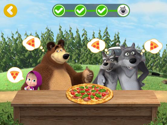 Masha and the Bear Pizzeria! screenshot 12