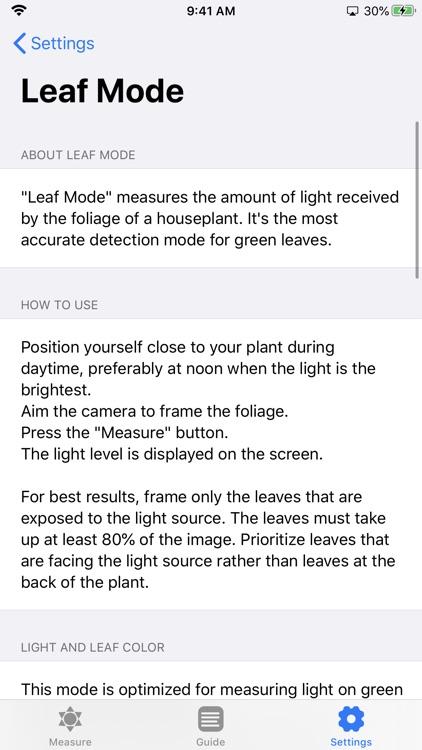 Plant Light Meter screenshot-8