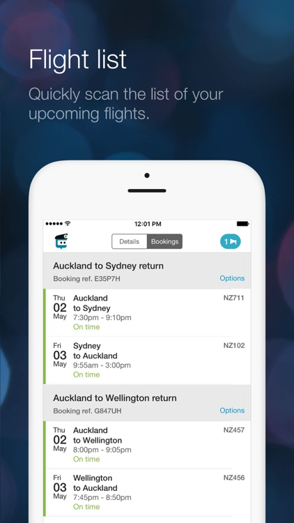 Air NZ mobile app screenshot-5
