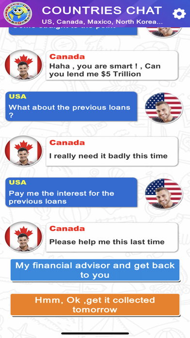 Countries Chat screenshot 2