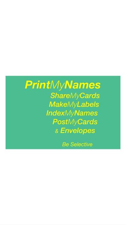 PrintMyNames screenshot-4