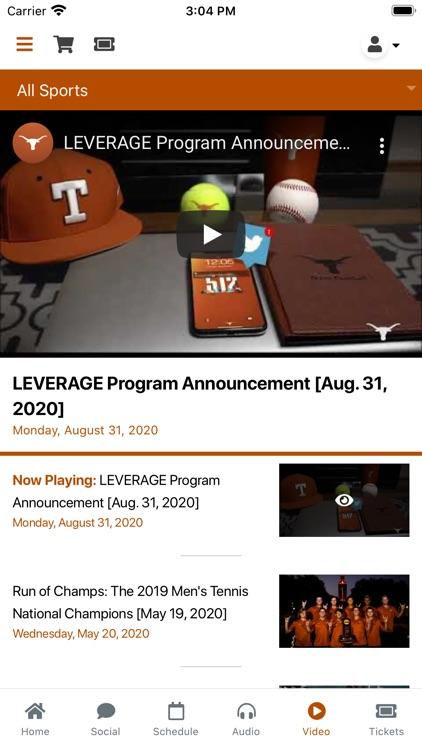 Texas Longhorns screenshot-4