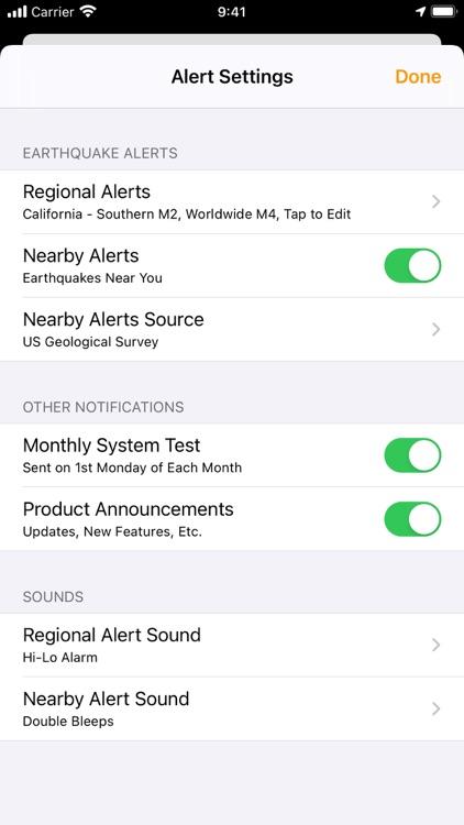 QuakeFeed Earthquake Alerts screenshot-3