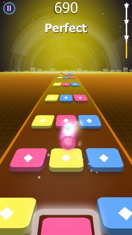 Beat Ball: Dancing Color Hop screenshot-4