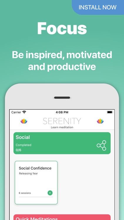 Serenity - Meditation App screenshot-5