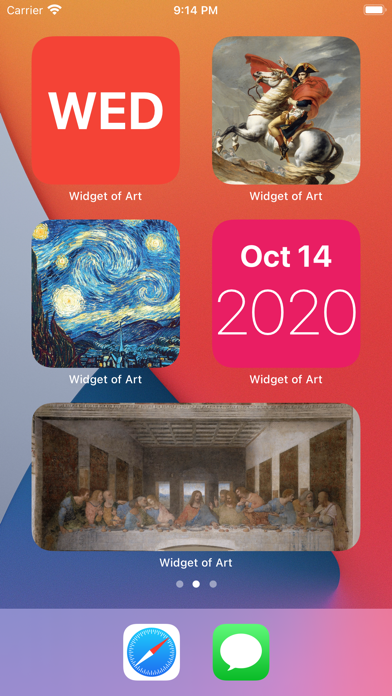 Widget of Art screenshot 3
