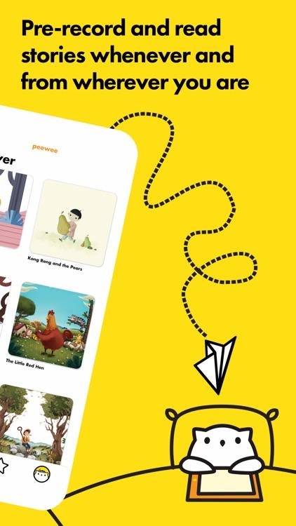 Peewee: Story Recording App
