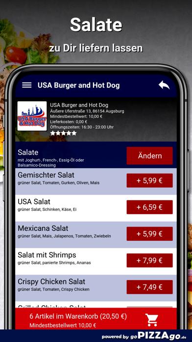 USA Burger Augsburg screenshot 5