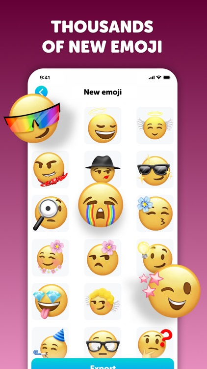 Emoji up: emoji maker stickers screenshot-5