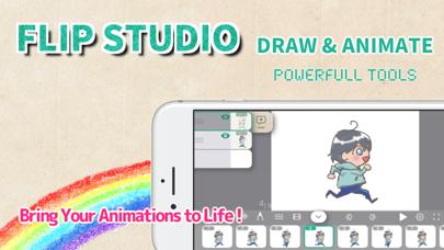 Screen Shot FlipStudio: Draw & Animate App 0