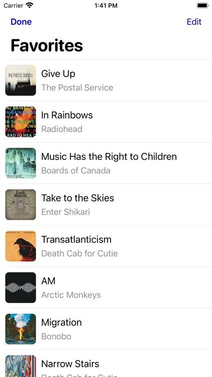Dot Music Player screenshot-4