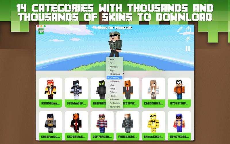 Skins for Minecraft PC • screenshot 3