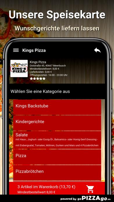 Kings Pizza Meerbusch screenshot 5