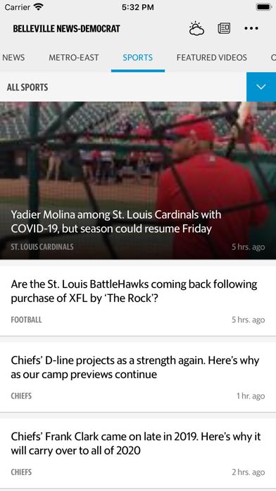 Belleville News Democrat News Screenshot