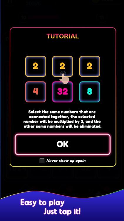Neon Pop Numbers screenshot-4
