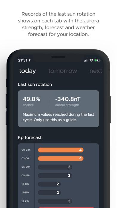 hello aurora: forecast appのおすすめ画像7