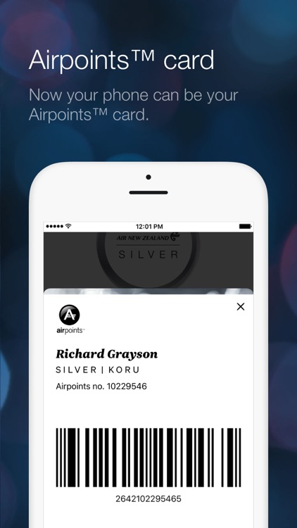 Air NZ mobile app screenshot-4