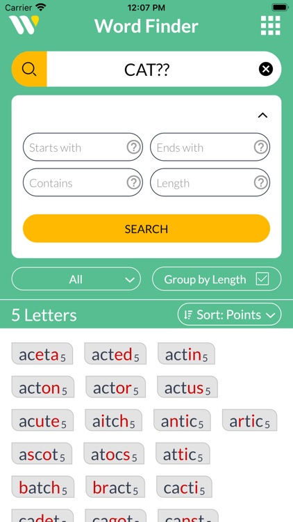 Wordfinder by WordTips screenshot-6
