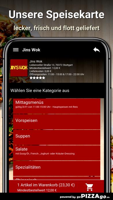 Jins Wok Stuttgart screenshot 4