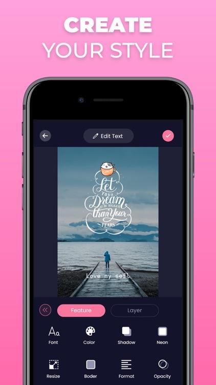 Write On Photos - Add Text Art screenshot-4