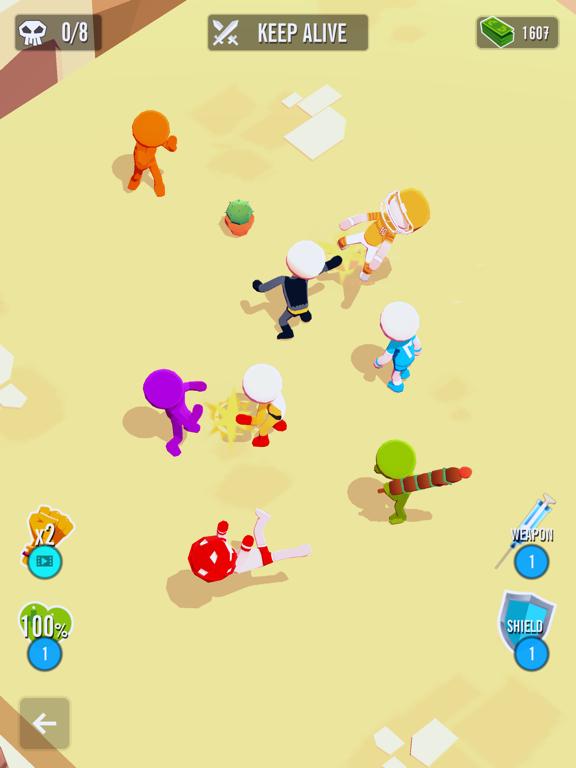 Stickman 3D - Street Gangster screenshot 10