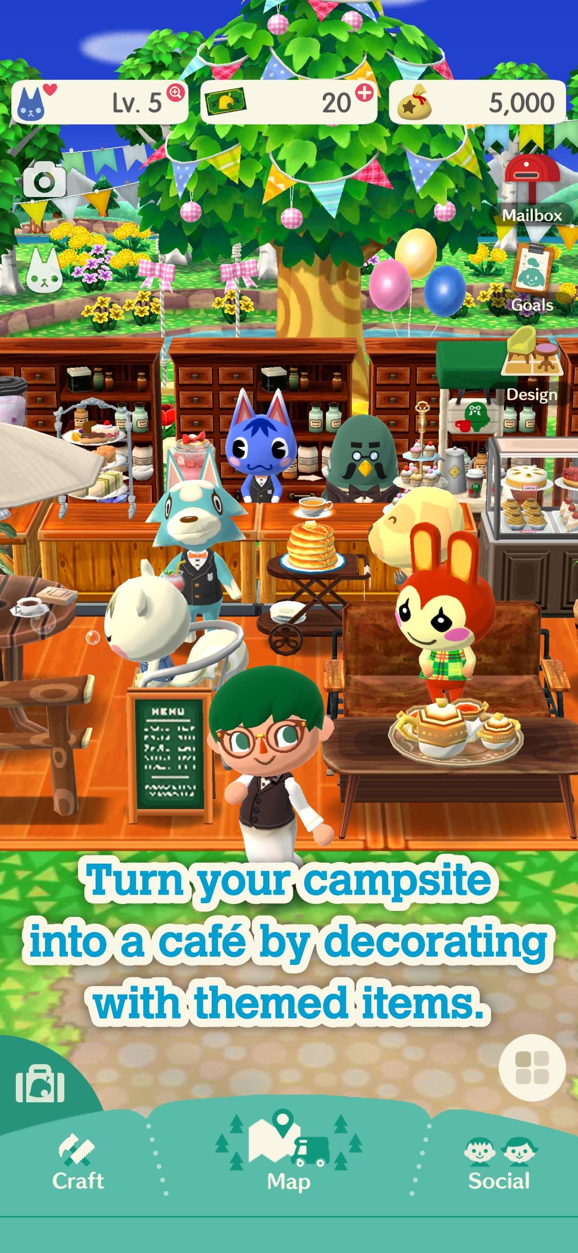 Screenshot do app Animal Crossing: Pocket Camp