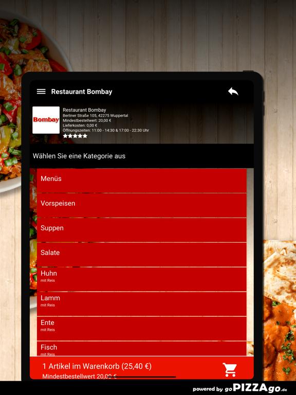 Restaurant Bombay Wuppertal screenshot 8