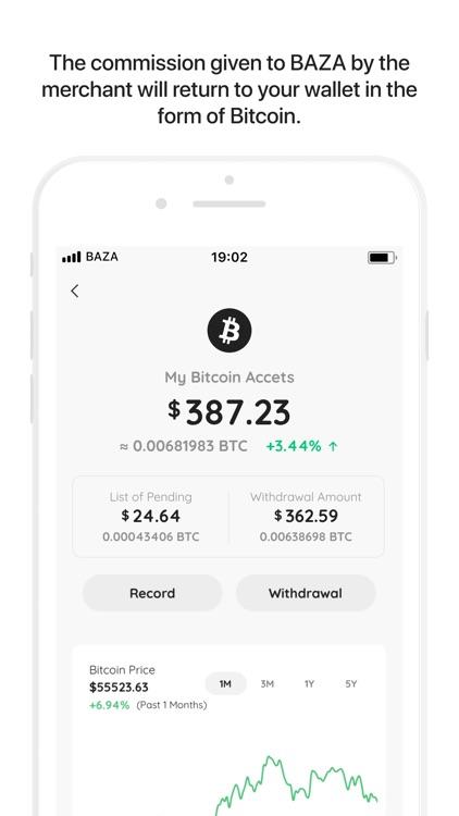 Baza.com: Bitcoin Cash Back screenshot-3