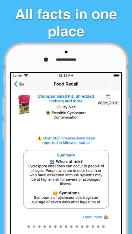 US Food Recalls screenshot-6
