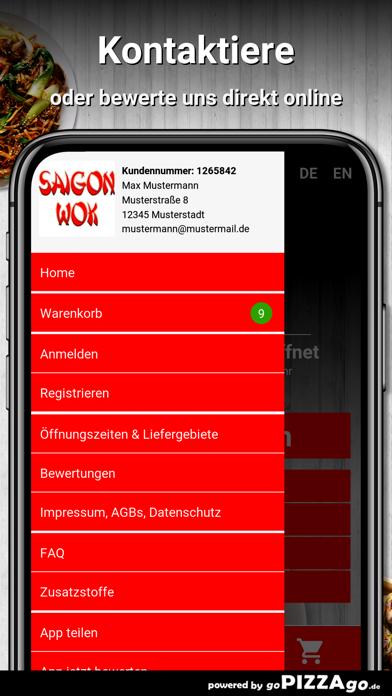 Saigon Wok Kamen screenshot 3
