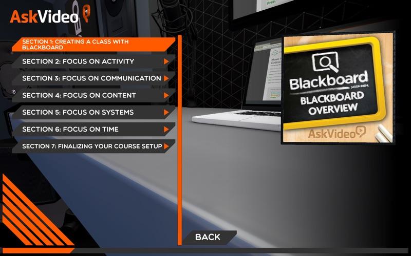 Overview of Blackboard Learn скриншот программы 2